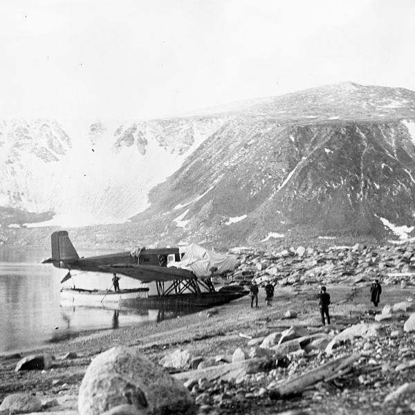 4а.Самолет ледовой разведки ЮГ-1.