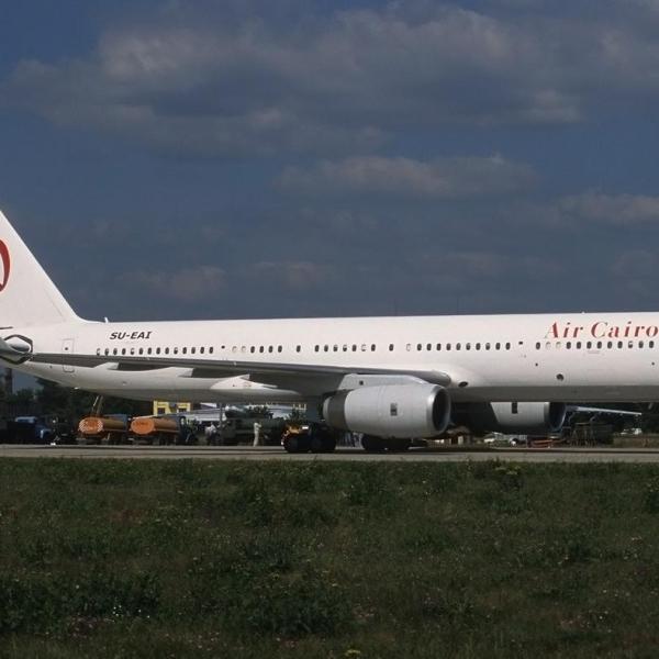 5.Буксировка Ту-204-120 на стоянку.