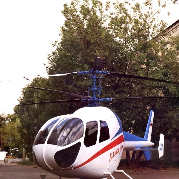 5.Легкий вертолет Ка-115.