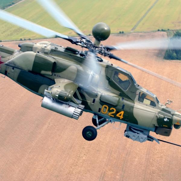 5.Ми-28Н в полете.