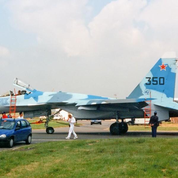 5.Первый серийный Су-35 борт № 703. 2
