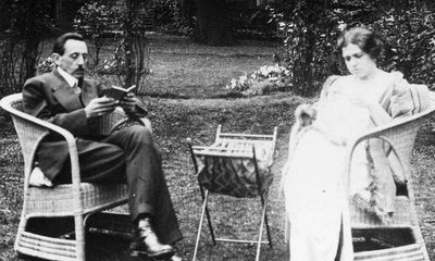 5.С.А.Ульянин с супругой, Англия 1920 г.