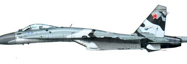 5.Су-30КИ. Рисунок.