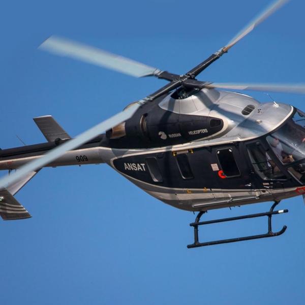 5.Вертолет Ансат в полете.