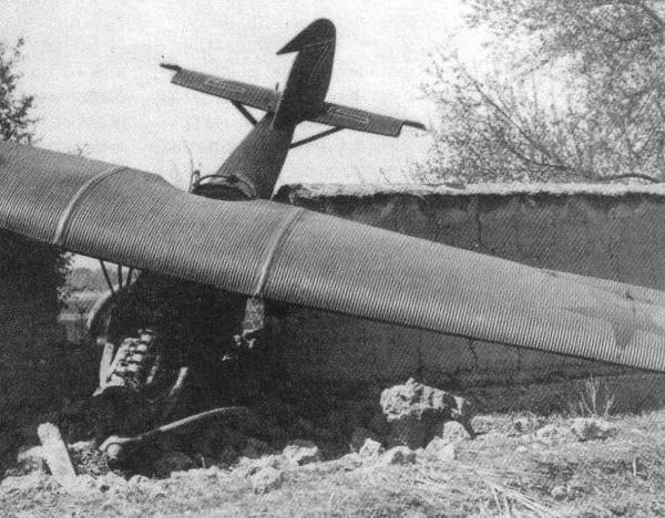 5.Ю-21 после аварийной посадки