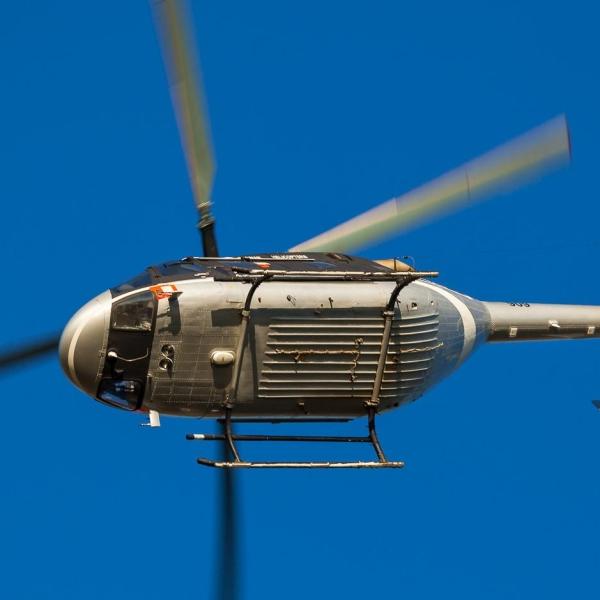 5б.Вертолет Ансат в полете.