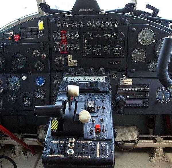 6.Кабина пилотов Ан-2МС.
