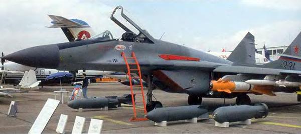 6.МиГ-29СМ выставочный № 331.