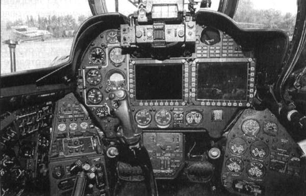 6.Приборная панель кабины пилота.