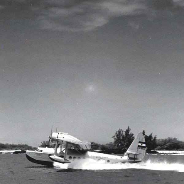 6.Взлет S-43А Baby Clipper
