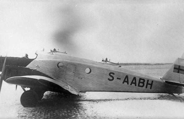 7.Бомбардировщик К.30 ВВС Швеции.