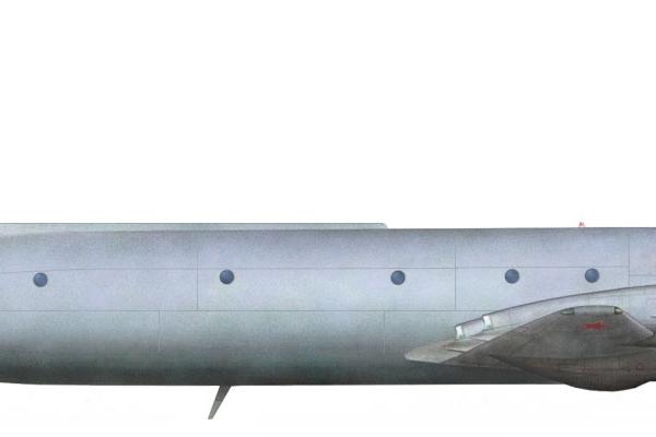 7.Ил-38Н. Рисунок.