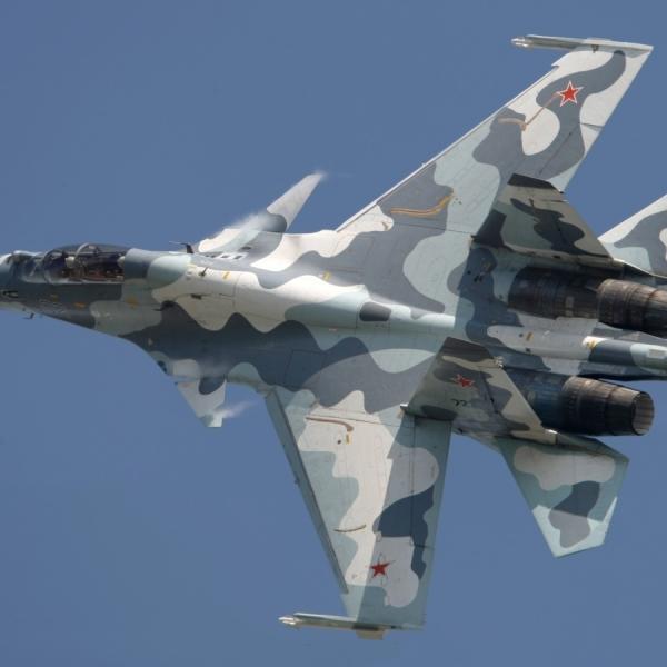 7.Су-30МК в полете.