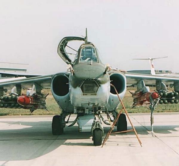 7.Су - 39. Вид спереди. 1.