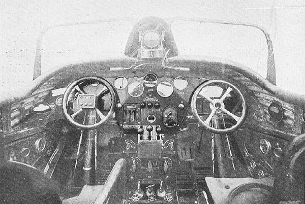 7а.Кабина пилотов ЮГ-1.