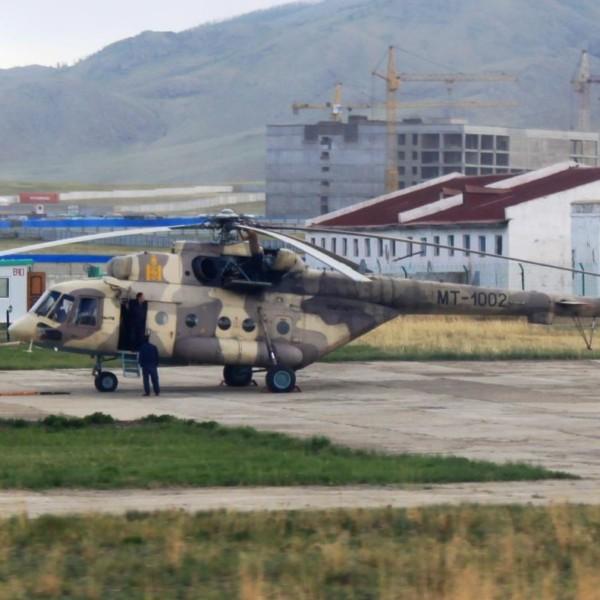 8.Экспортный вариант Ми-8АМТ - Ми-171Е ВВС Монголии.