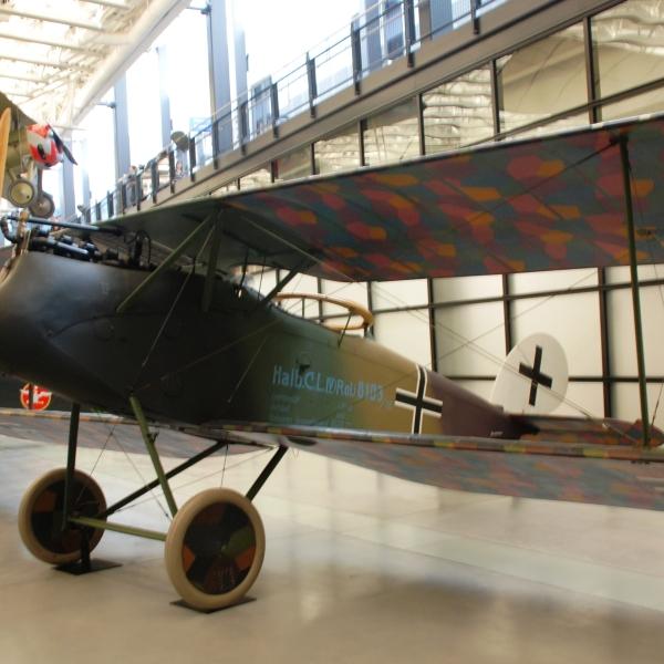 8.Halberstadt CL.IV в авиамузее.