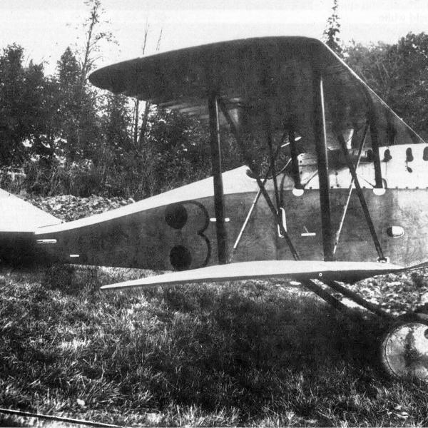 8.Истребитель Ansaldo A.1 Ballila РККВФ.