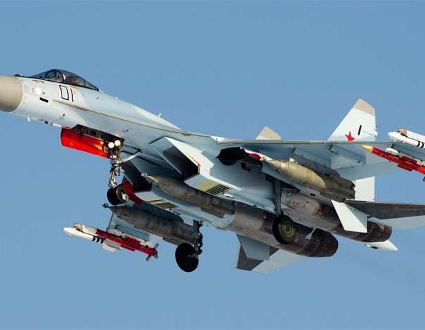 8.Первый серийный Су-35С