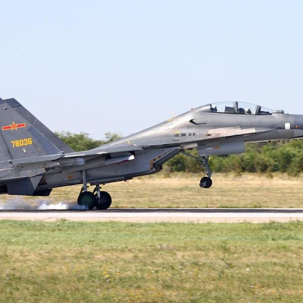 8.Су-30МКК ВВС Китая.