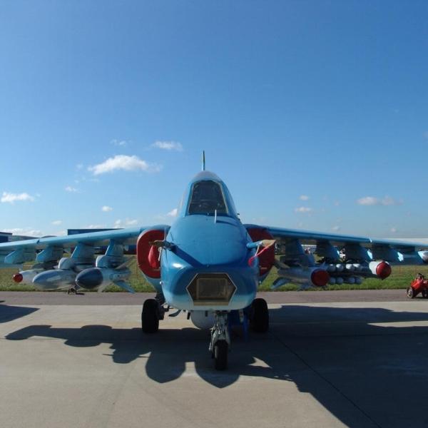 8.Су-39. Вид спереди. 2