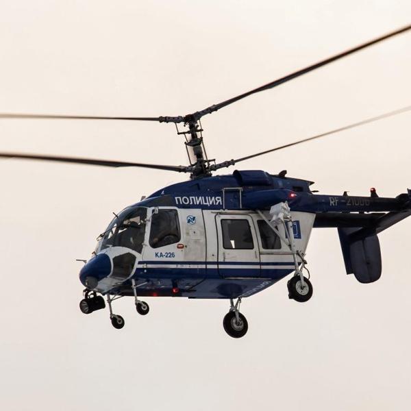 9.Ка-226 МВД России в полете.