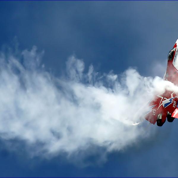 9.МиГ-29ОВТ бортовой № 156 в полете. 5