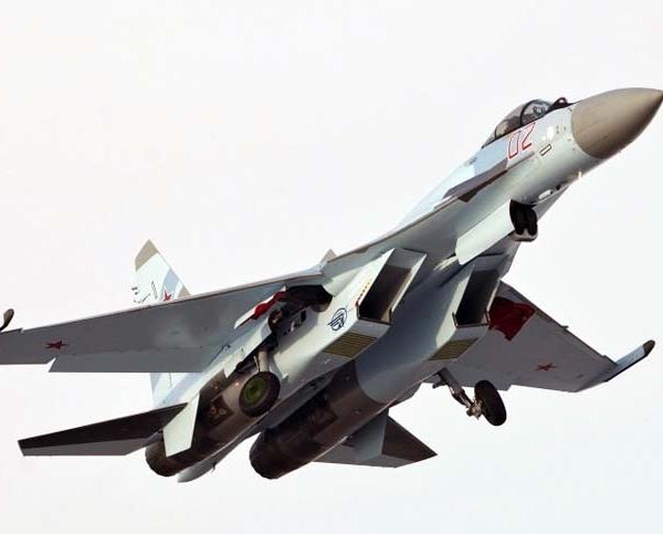 9.Второй серийный Су-35С на взлете.