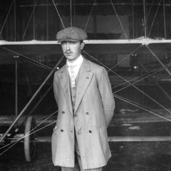 Авиатор Б.С.Масленников. 1911 г.