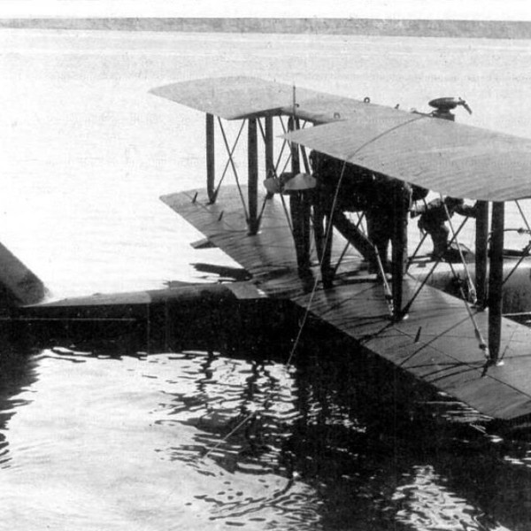SIAI S.16 bis на воде.