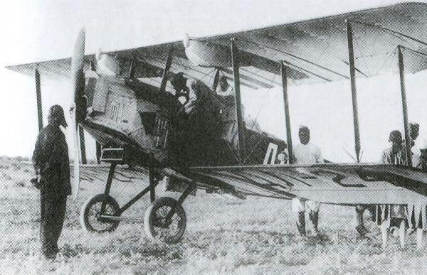 Самолет У-8 Конек Горбунок.
