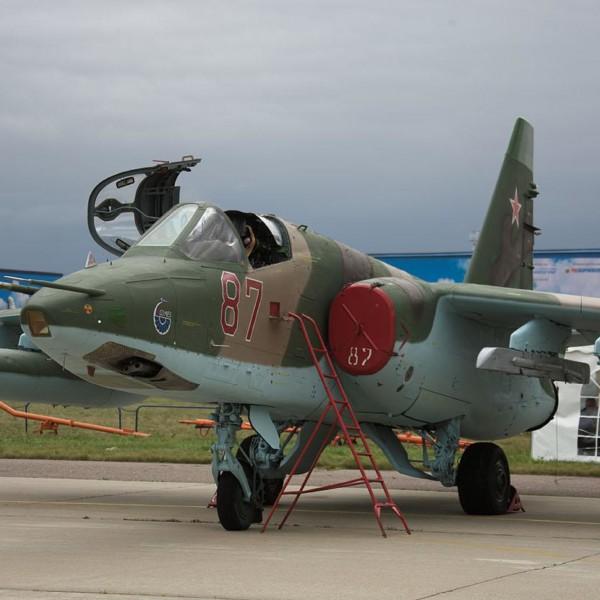 Су-25СМ на стоянке.