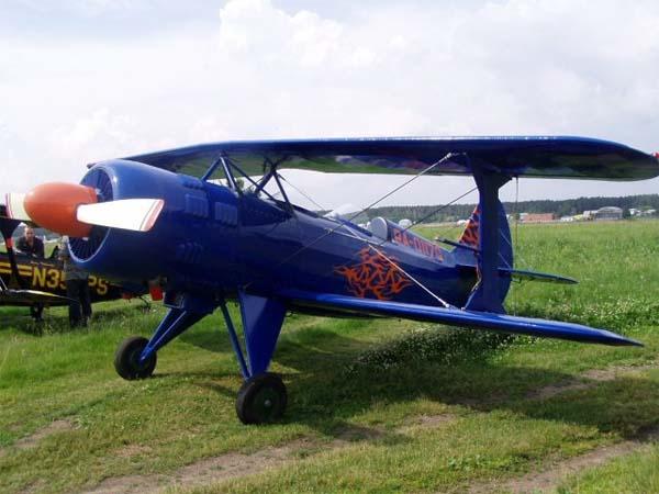 1.Легкий пилотажный самолет Б2М Москит.