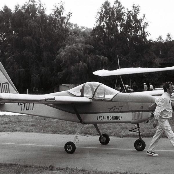 1.Легкий самолет А-17.