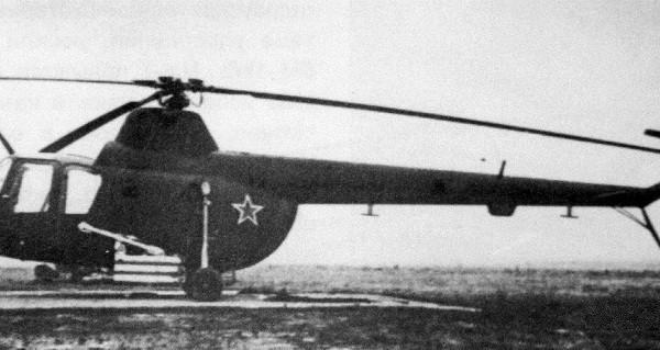 1.Ми-1МУ с турбореактивными снарядами ТРС-132.