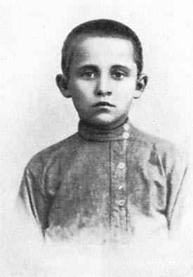 1.Павел Сухой в детстве.