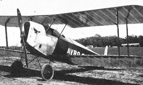 1.Первый прототип, Avro 534 Baby.