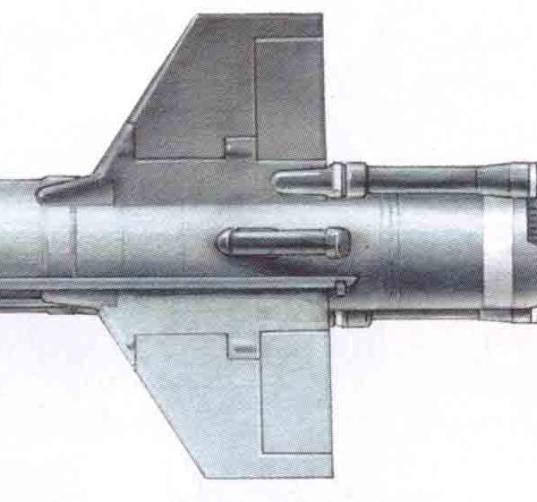 10.Проекции 9М17 Фаланга-М. Рисунок.