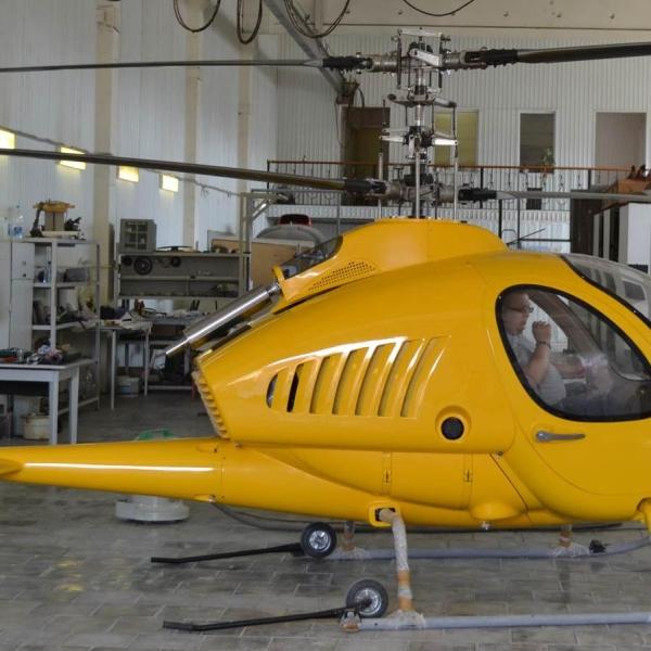 10.Вертолет Беркут-ВЛ в ангаре. Лето 2013 г.
