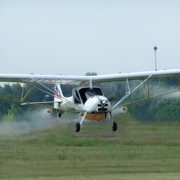 13.Сельхоз самолет МАИ-223СХ в полете.