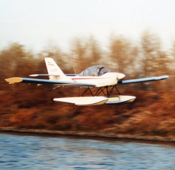 18.Гидровариант самолета Ястреб.