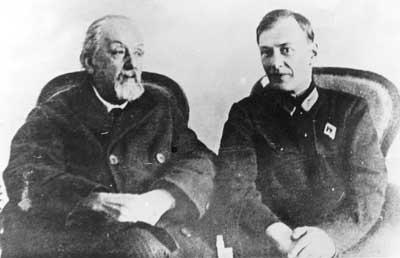 2.К.Э.Циолковский и М.К.Тихонравов