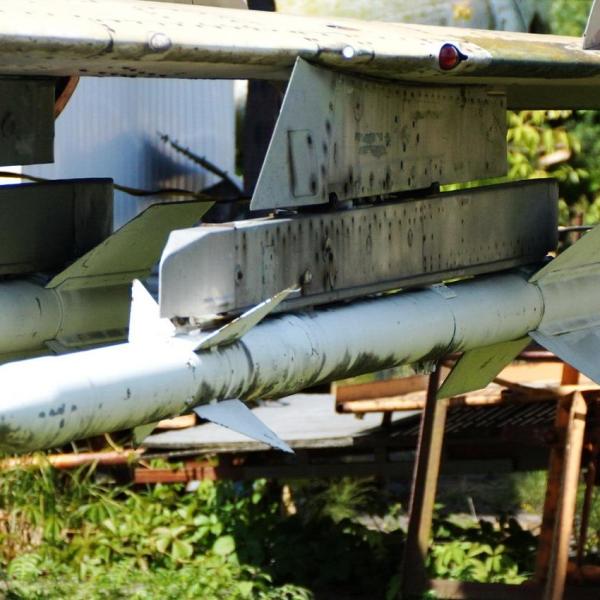2.Р-3Р на пилоне МиГ-23