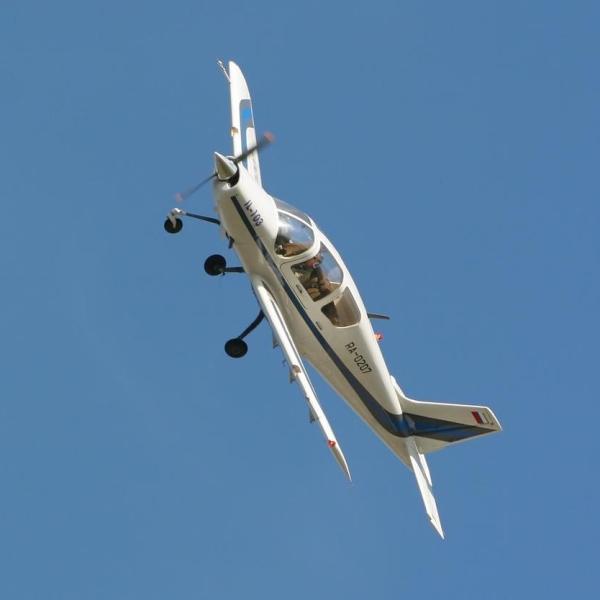 20.Ил-103 в полете.