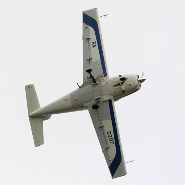 21.Ил-103 в полете.