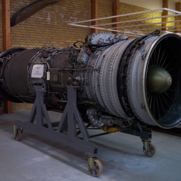 3.Двигатель Д-30 III серии. Музей авиации в Дании.