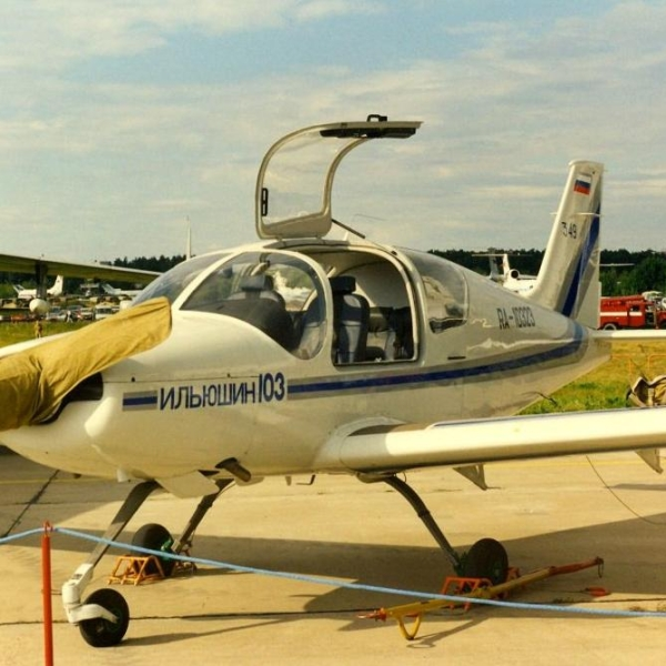 3.Ил-103 на аэродроме ОКБ им. Ильюшина. Август 1997 г.