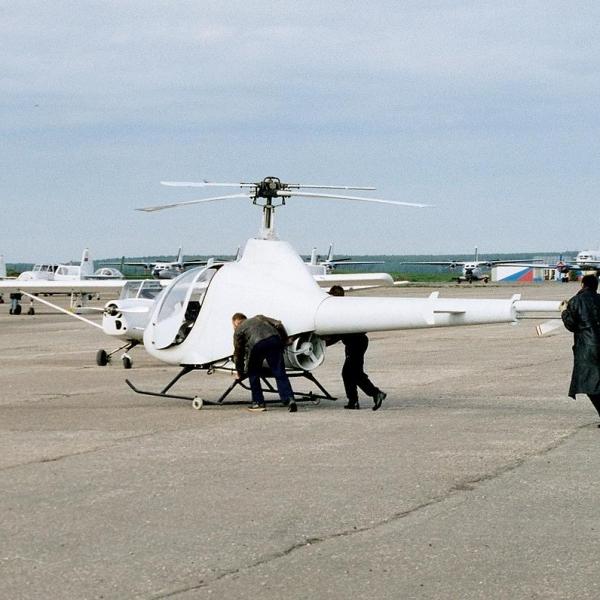 3.Легкий вертолет ВМ-01.