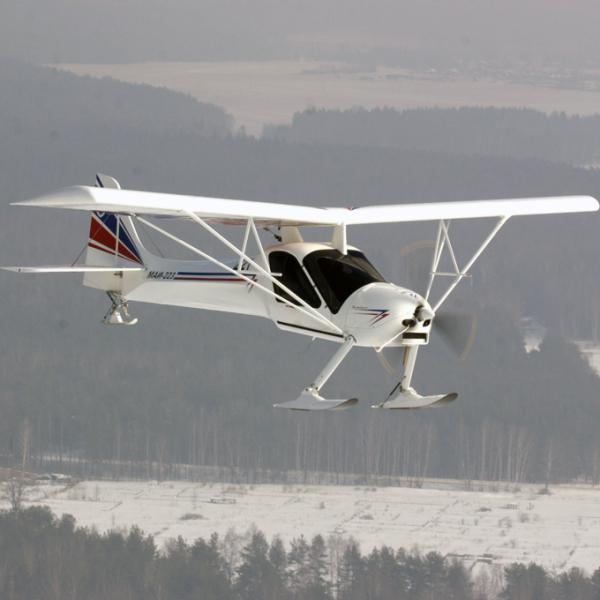 3.МАИ-223 в полете.