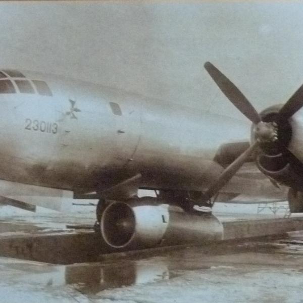3.Ту-4ЛЛ (заводской 230113).летающая лаборатория для испытаний двигателя АМ-3.